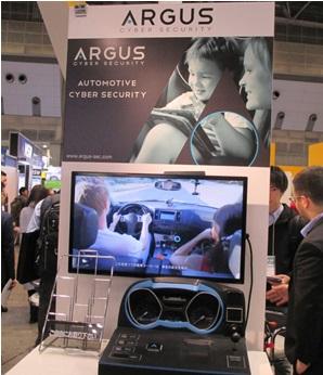 【写真:ARGUS「自動車用サイバーセキュリティサービス」】